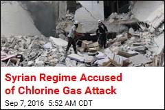 Syrian Regime Accused of Chlorine Gas Attack