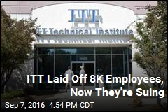 ITT Sued by Laid-Off Employees