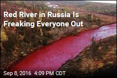 Red River in Russia Is Freaking Everyone Out