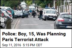 Police: Boy, 15, Was Planning Paris Terrorist Attack