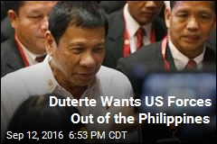 Duterte Wants US Forces Out of the Philippines