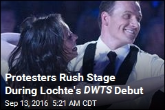 2 Men Rush Stage During Lochte's DWTS Debut
