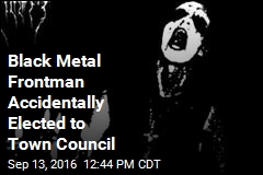 Black Metal Frontman Accidentally Elected to Town Council