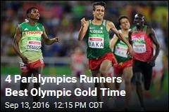 4 Paralympics Runners Best Olympic Gold Time