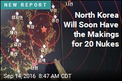North Korea Will Soon Have the Makings for 20 Nukes