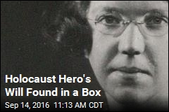 Holocaust Hero's Will Found in a Box