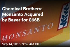 Monsanto Scooped Up by Bayer for $66B