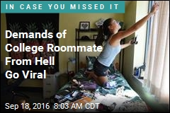 Demands of College Roommate From Hell Go Viral