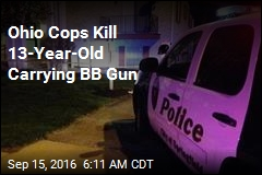 Ohio Cops Kill 13-Year-Old Carrying BB Gun
