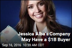 Jessica Alba's Company May Have a $1B Buyer