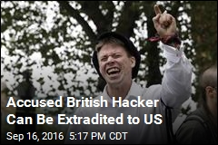 Accused British Hacker Can Be Extradited to US