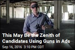 Senate Hopeful Assembles Rifle Blindfolded in New Ad