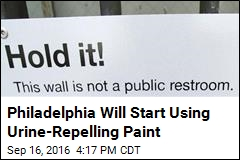 Philadelphia Will Start Using Urine-Repelling Paint