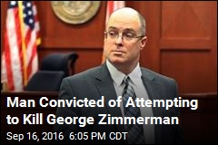Man Convicted of Attempting to Kill George Zimmerman