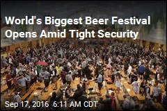 Security Tight as Oktoberfest Opens