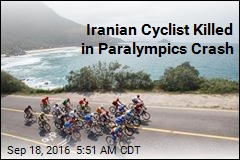 Iranian Cyclist Killed in Paralympics Crash