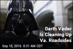 Darth Vader Is Cleaning Up Va. Roadsides