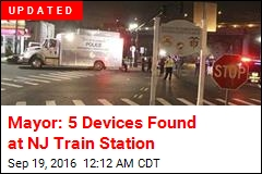 Suspicious Device Found at NJ Train Station