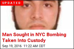 Man Sought in NYC Bombing Taken Into Custody