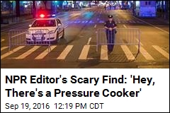 NPR Editor's Scary Find: 'Hey, There's a Pressure Cooker'