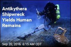 Antikythera Shipwreck Yields Human Remains