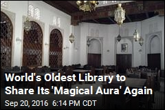 1,100-Year-Old Library Will Reopen to Public