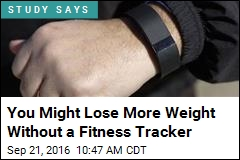 You Might Lose More Weight Without a Fitness Tracker