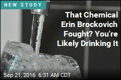 That Chemical Erin Brockovich Fought? You're Likely Drinking It