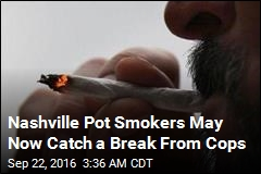 Nashville Gives Cops Choice on Decriminalizing Pot