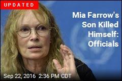 Mia Farrow's Son Dead in Crash at 27