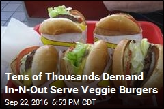 Petition Demands Veggie Burgers at Popular Chain