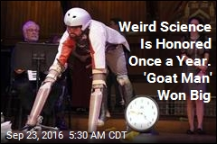 Ig Nobel Prizes Honor 'Goat Man,' Rat Trousers