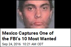 One of FBI's 10 Most Wanted Caught in Mexico