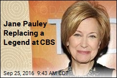 Jane Pauley Replacing a Legend at CBS