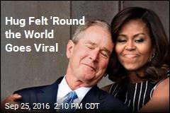 Hug Felt 'Round the World Goes Viral