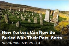 New Yorkers Can Now Be Buried With Their Pets. Sorta