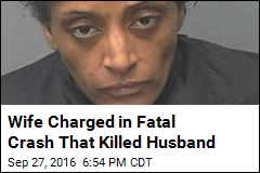 Police Say Woman Chased Husband, Cause Deadly Crash