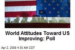 World Attitudes Toward US Improving: Poll