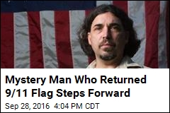 Ground Zero Flag Returned, Mystery Finder Revealed