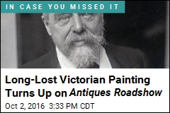 Long-Lost Victorian Painting Found on Antiques Roadshow