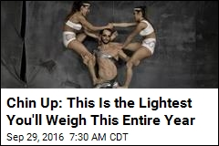 Chin Up: This Is the Lightest You'll Weigh This Entire Year