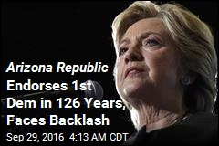 After 126 Years, Arizona Republic Endorses a Democrat