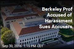 Berkeley Prof Accused of Harassment Sues Accusers