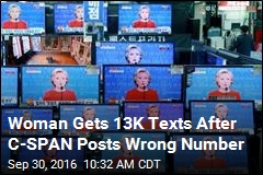 Woman Gets 13K Texts After C-SPAN Posts Wrong Number