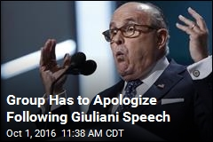 Giuliani May Have Gotten a Tad Racist at Speaking Engagement