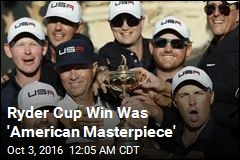 Americans Win Back Ryder Cup After 8 Years