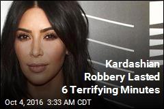 Kardashian Robbery Took Only 6 Minutes