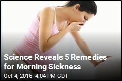 Studies Reveal 5 Remedies for Morning Sickness