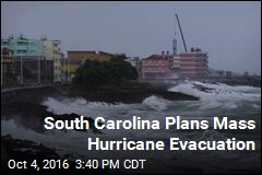 South Carolina Plans Mass Hurricane Evacuation