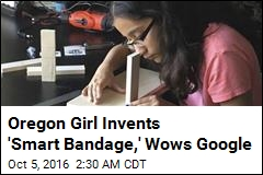 Oregon Teen Invents 'Smart Bandage'
